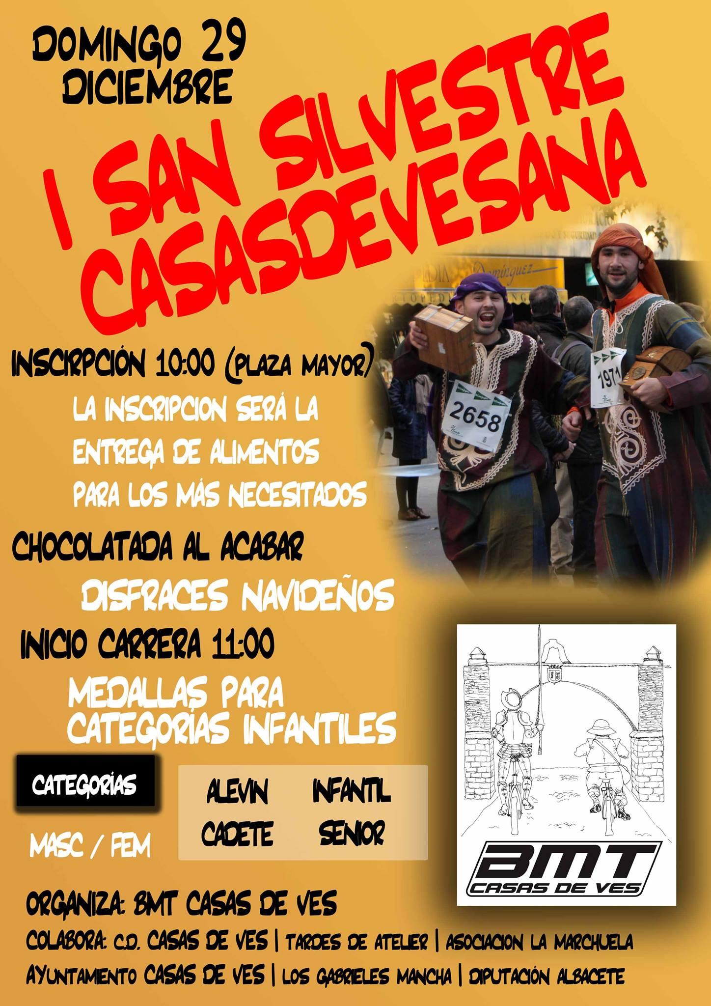 Cartel Casas de Ves I San Silvestre