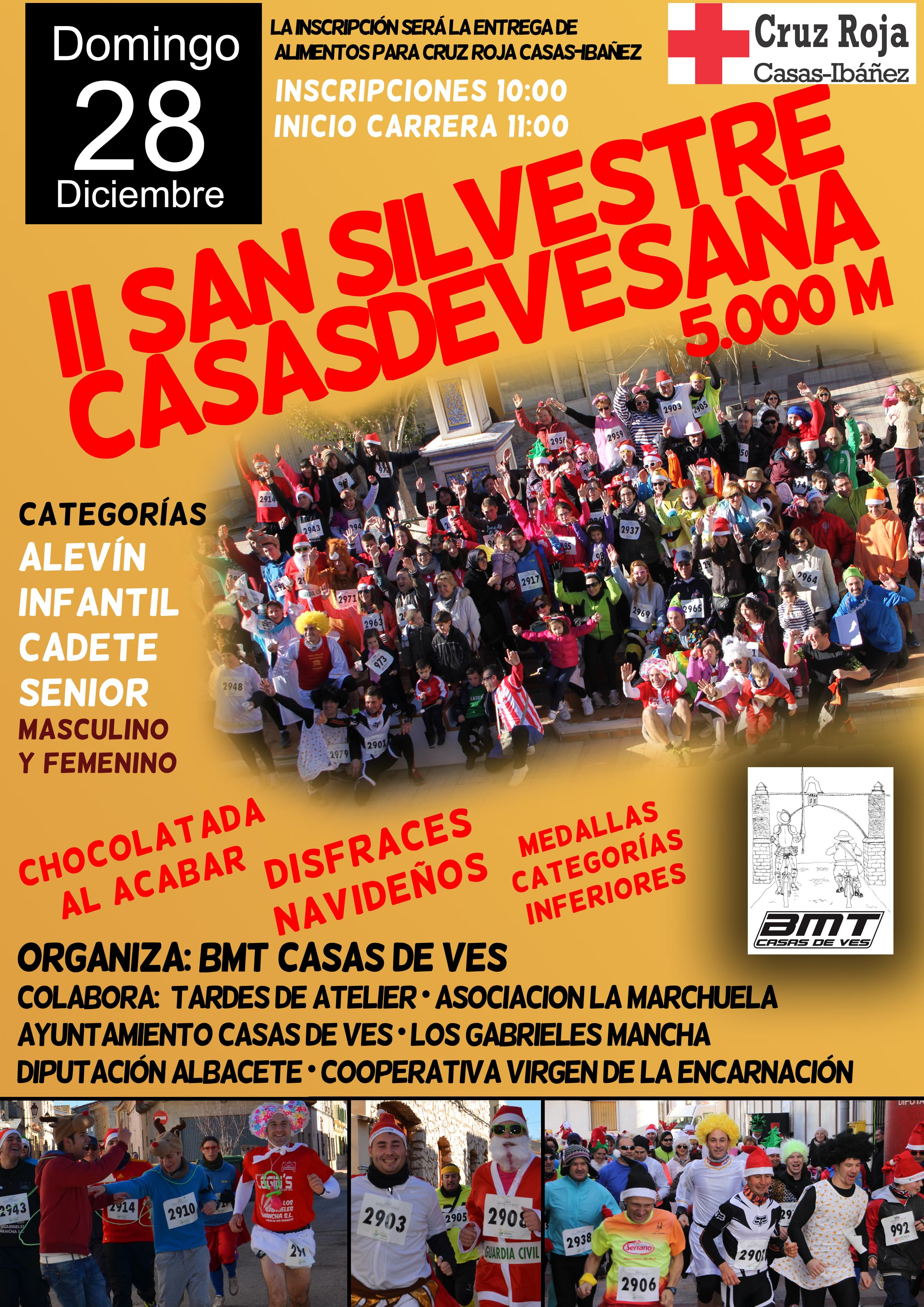 Cartel II San Silvestre Casasdevesana