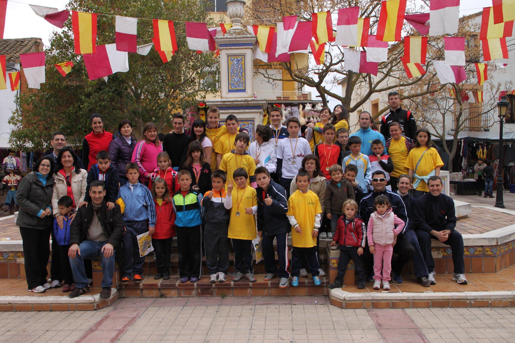 I trofeo orientacion Casas de Ves