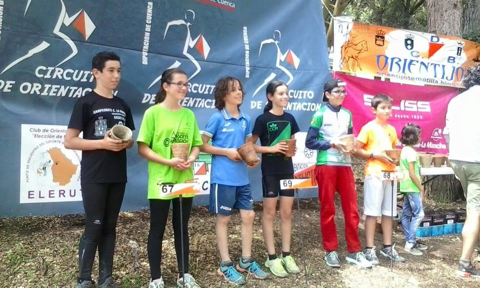 Jose Antonio Villar y Teresa Murcia, en segunda posición en H-12 y D-12 respectivamente